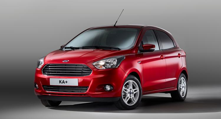 Yeni Ford Ka Plus