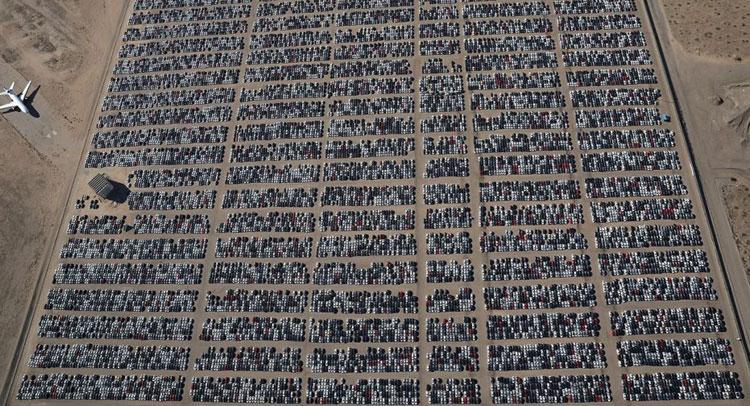 Volkswagenin Yeni Araba Mezarlığı Arabalarcomtr