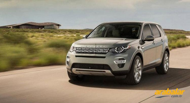 Yeni Land Rover Discovery Sport