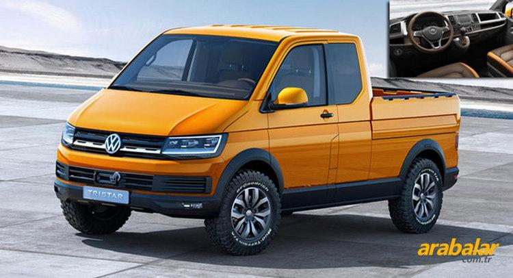 VW Transporter T6 Pickup