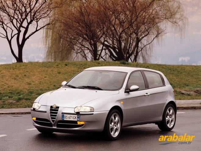 2005 Alfa Romeo 147 1.6 Twin Spark Progression