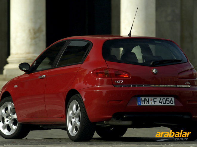 2009 Alfa Romeo 147 1.6 Twin Spark Progression