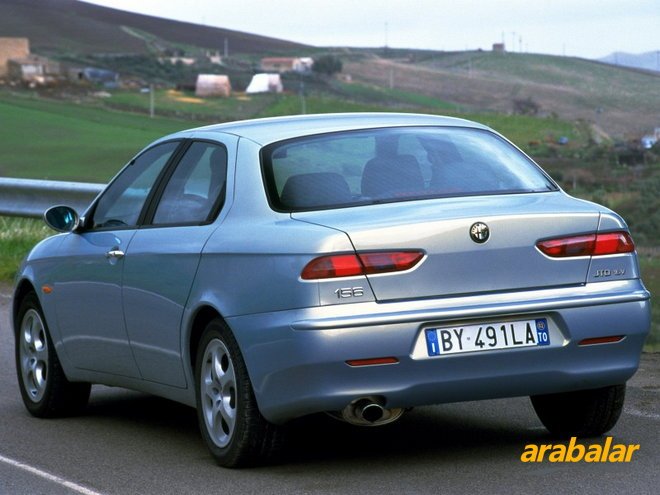 2001 Alfa Romeo 156 2.0 Executive