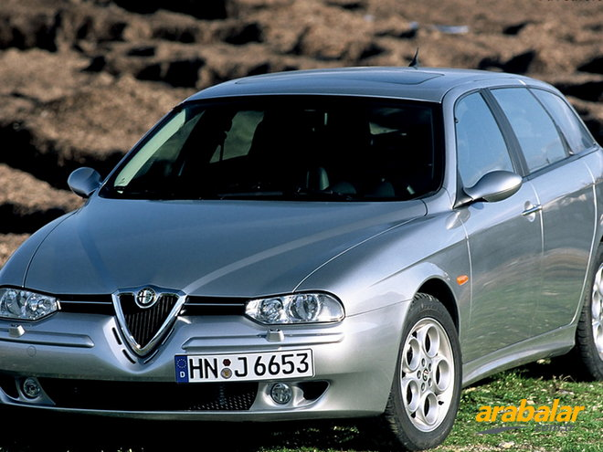 2006 Alfa Romeo 156 SW 2.0 JTS Distinctive Selespeed