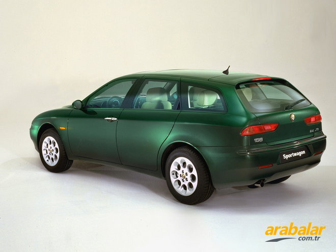 2006 alfa romeo 156 sw 2 0 jts distinctive selespeed. Black Bedroom Furniture Sets. Home Design Ideas