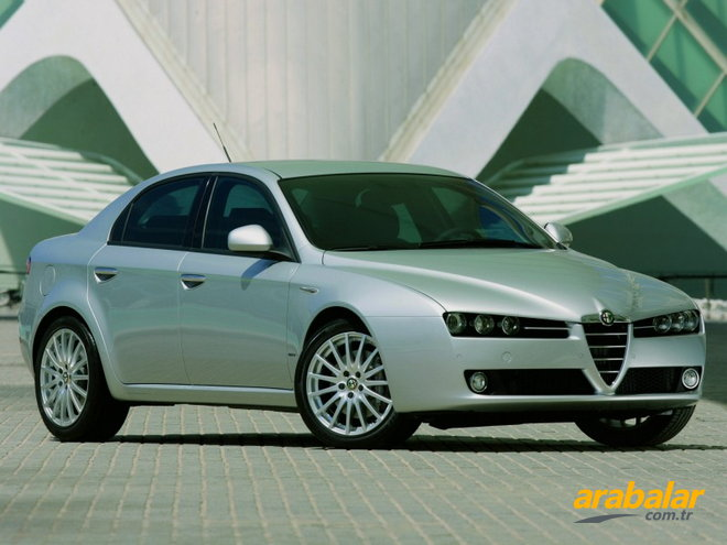2008 Alfa Romeo 159 1.9 JTD Distinctive Plus Q-Tronic