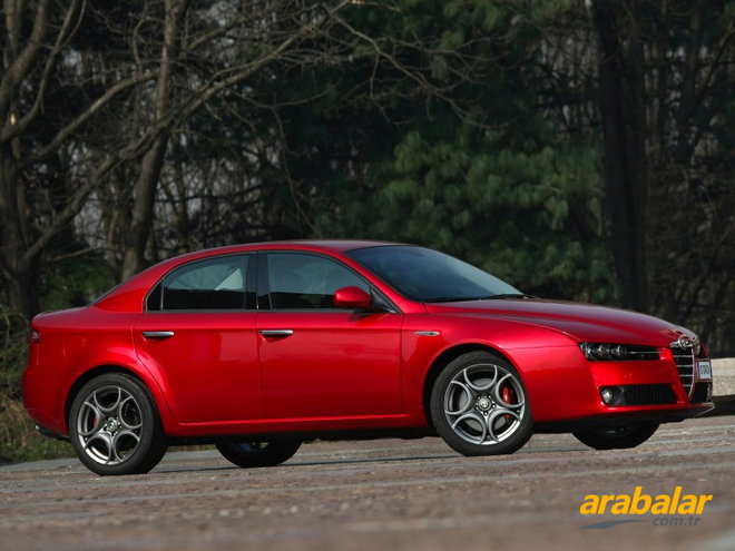 2009 Alfa Romeo 159 1.9 JTD Distinctive Plus