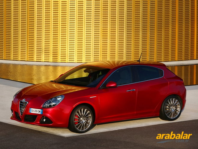2011 Alfa Romeo Giulietta 1.4 TB MultiAir Progression Plus TCT