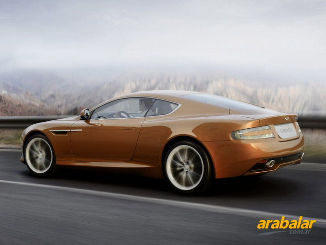 2011 Aston Martin Virage Coupe Touchtronic