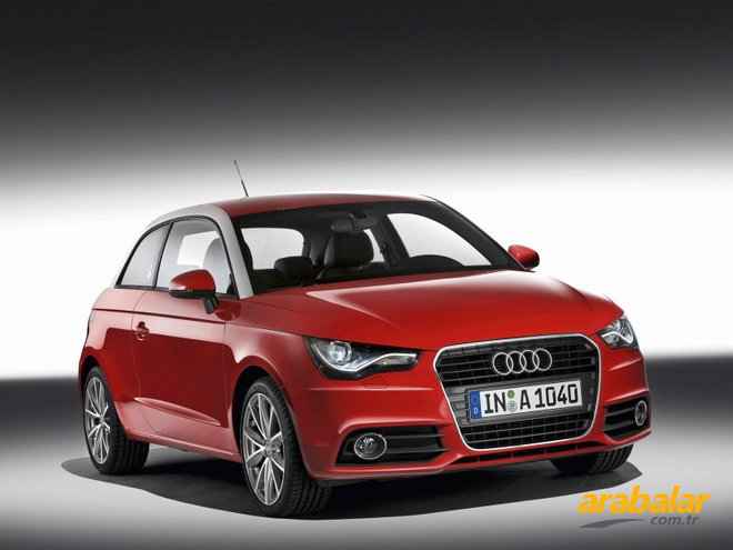 2010 Audi A1 1.6 TDi Attraction DPF