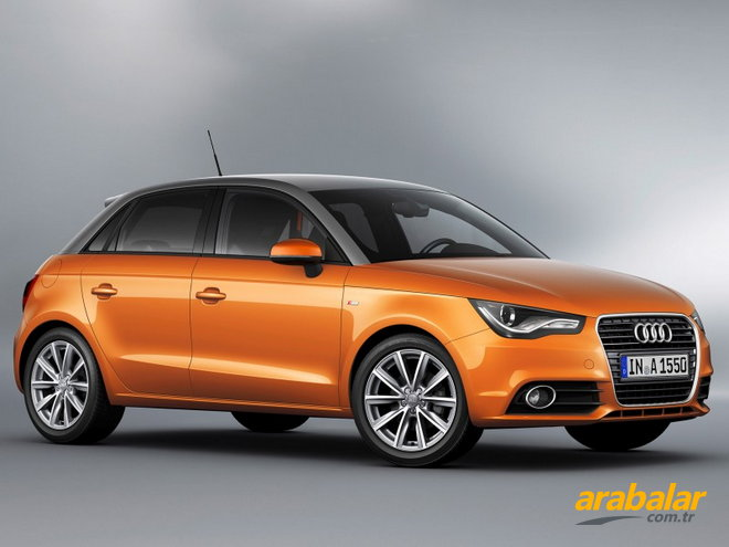 2012 Audi A1 1.6 TDi Attraction DPF