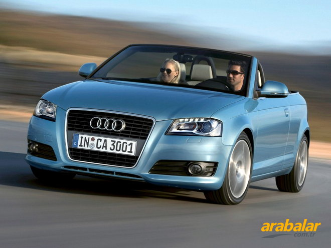 2009 Audi A3 2.0 TFSI Attraction Cabrio