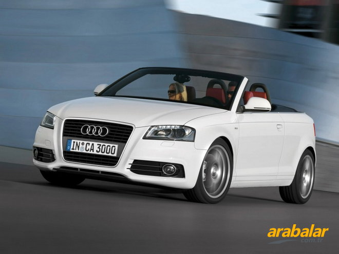 2010 Audi A3 2.0 TFSI Attraction Cabrio