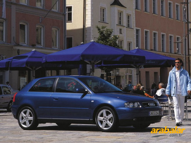 2000 Audi A3 3K 1.6 Attraction