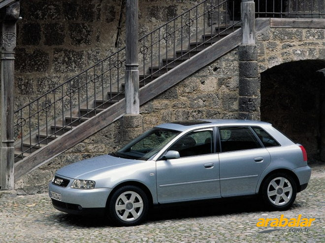 2001 Audi A3 3K 1.8 T Attraction