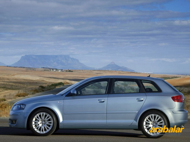 2008 Audi A3 1.6 Attraction S-Tronic Sportback