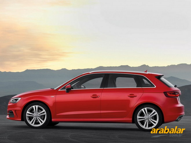 2016 Audi A3 Sportback 1.4 TFSI Attraction S-Tronic