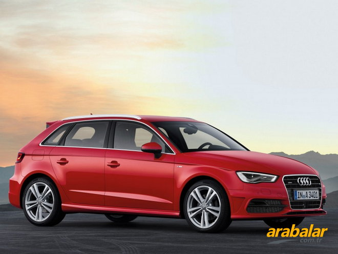 2013 Audi A3 3K 1.6 TDi Attraction S-Tronic