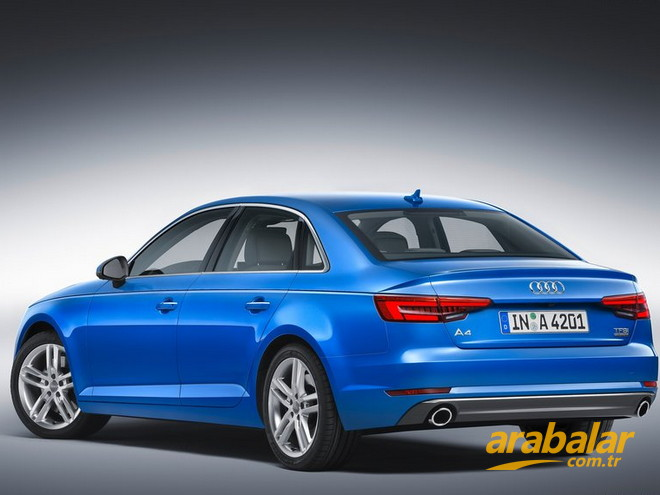 2015 Audi A4 2.0 TFSI Ouattro S-Tronic 252 HP