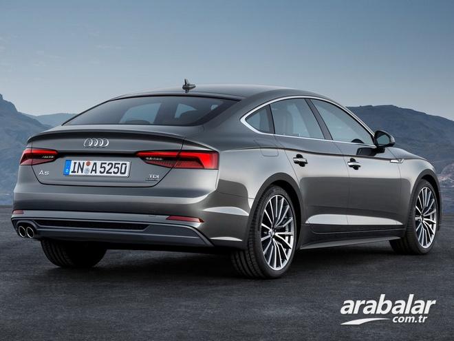 2017 audi a5 sportback 2.0 tdi dynamic - arabalar.tr