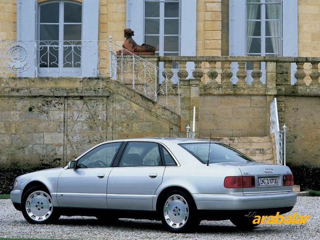 2000 Audi A8 4.2 Quattro Tiptronic Long