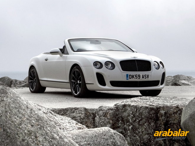 2010 Bentley Continental 6.0 GTC