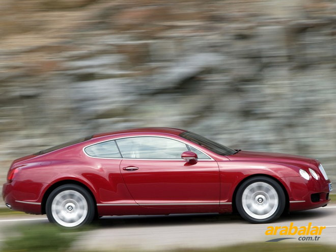 2007 Bentley Continental 6.0 GT
