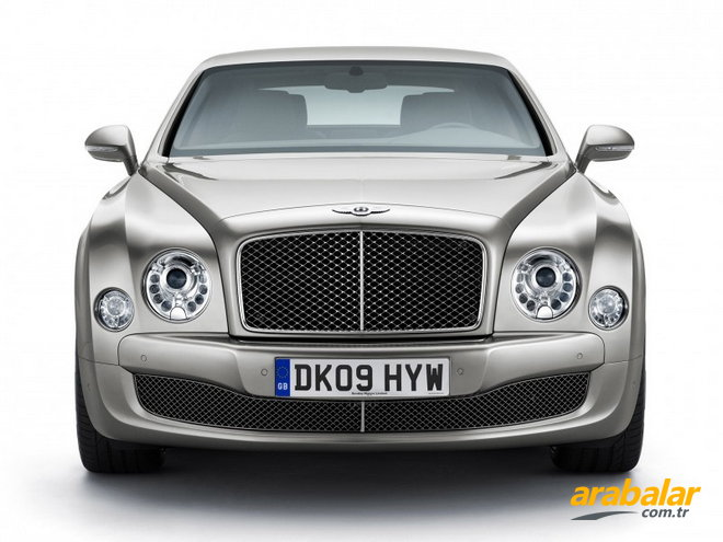 2011 Bentley Mulsanne 6.7