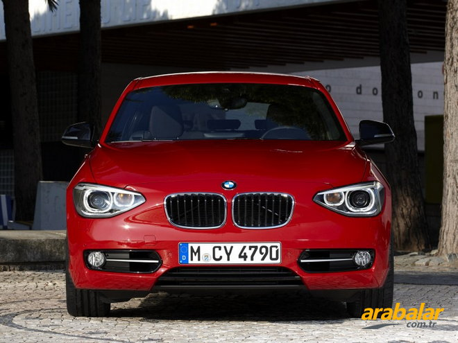 2014 BMW 1 Serisi 116d Efficient Dynamics