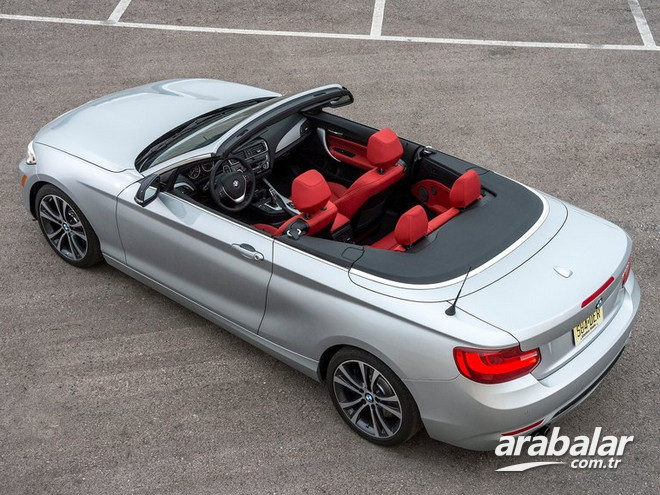 2016 BMW 2 Serisi 218i Cabrio 1.5 Prestige AT