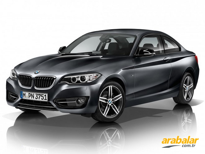 2017 BMW 2 Serisi 218i Coupe 1.5 Luxury Line AT