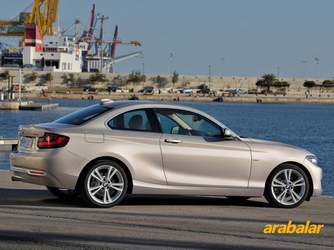 2016 BMW 2 Serisi 218i Coupe
