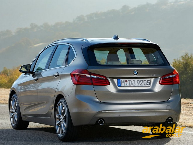 2016 BMW 2 Serisi 216d Active Tourer