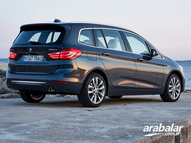 2016 BMW 2 Serisi 216d Gran Tourer 1.5 M Sport AT