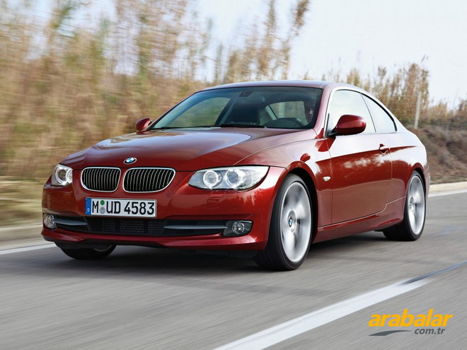 2012 BMW 3 Serisi 320d Luxury Coupe