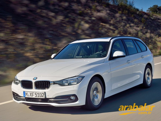 2016 BMW 3 Serisi 318i Touring 1.5 M Sport AT