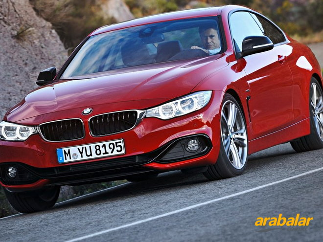 2015 BMW 4 Serisi Coupe 420d xDrive