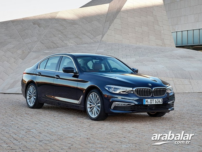 2017 BMW 5 Serisi 520i 1.6 Luxury Line