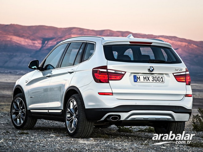 2016 BMW X3 sDrive 20i 1.6 Prestige AT