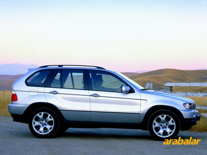 2002 BMW X5 4.6is