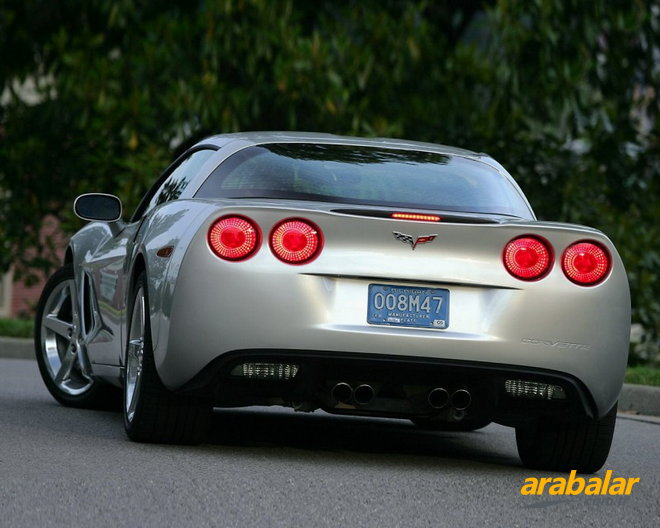 2011 Chevrolet Corvette 6.2 V8 Competition Coupe Otomatik