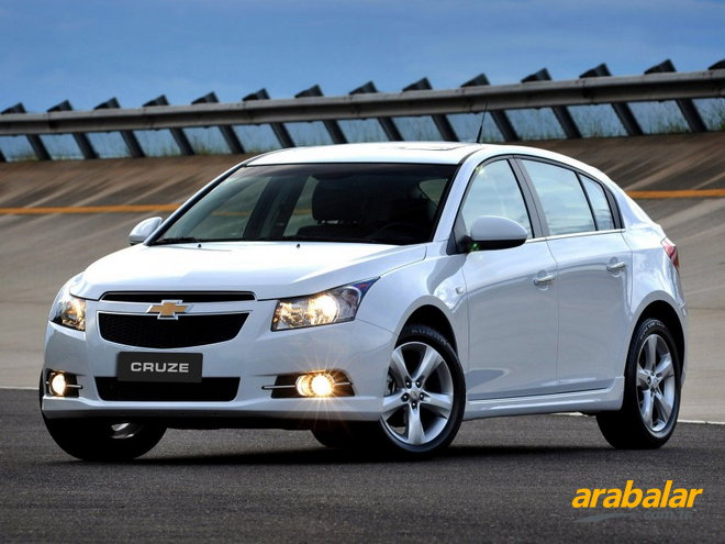 2012 Chevrolet Cruze HB 1.6 LT Plus