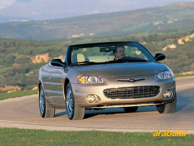 2001 chrysler sebring 2 7 lx cabrio. Black Bedroom Furniture Sets. Home Design Ideas