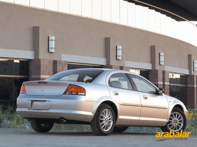 2002 Chrysler Sebring 2.7 LX