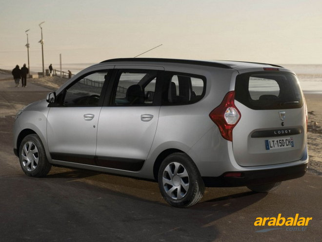 2016 Dacia Lodgy 1.5 DCi Stepway