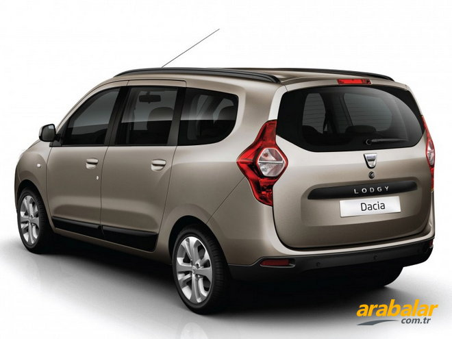 2015 Dacia Lodgy 1.5 DCi Stepway 7K