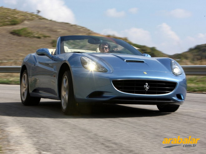 2010 Ferrari California 4.3 V8