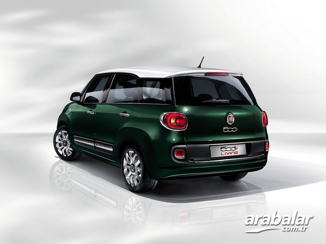 2015 Fiat 500L Living 1.6 Multijet Lounge 7K