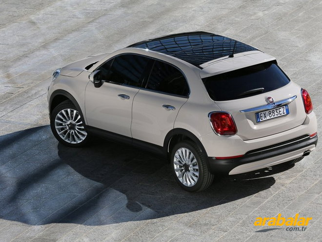 2016 Fiat 500X 1.6 Multijet Cross DCT