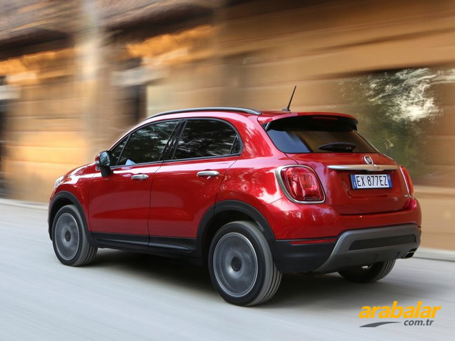 2017 Fiat 500X 1.4 Cross Plus DCT
